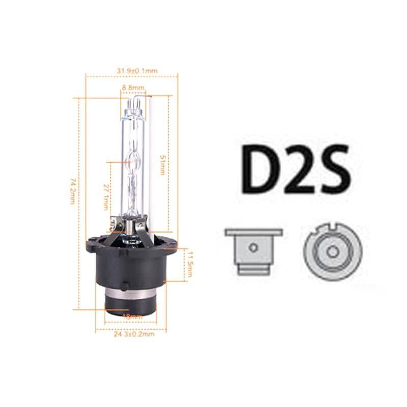 لامپ D2S