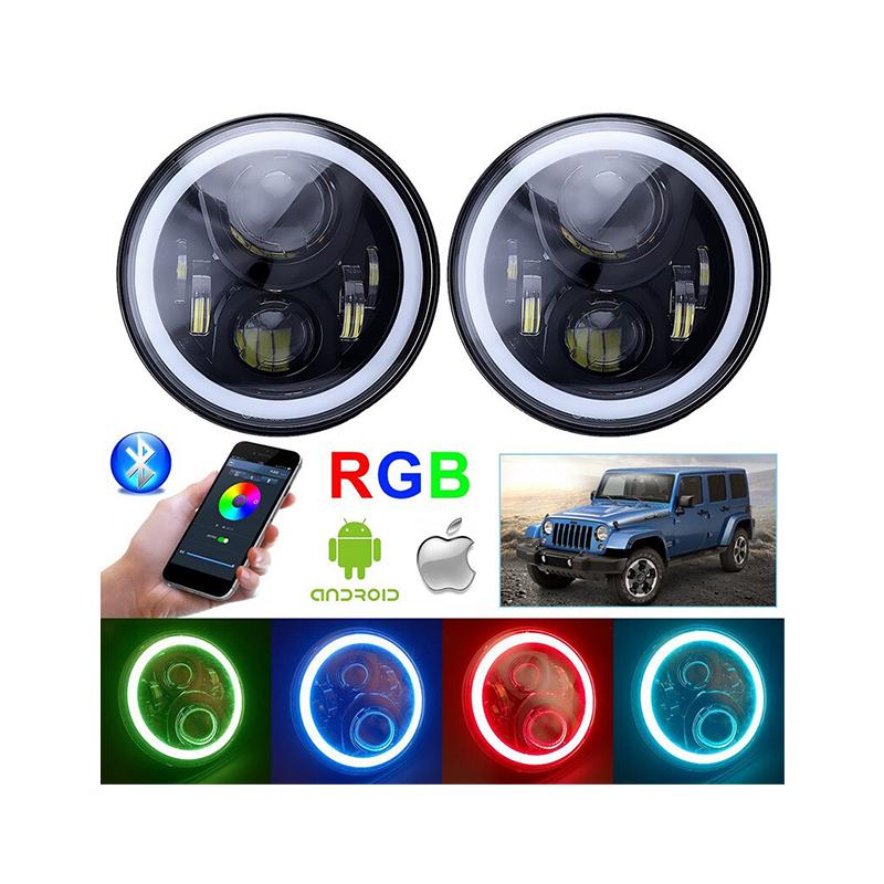 پرژکتور 7 اینچ جیپ RGB-BT 1640