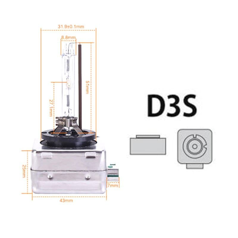 لامپ D3S